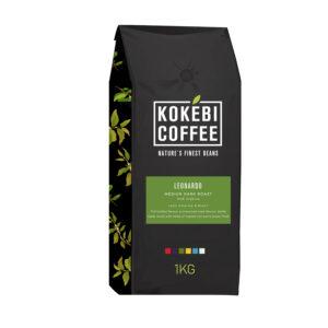 Kokebi Pure 100% Arabica Coffee Beans 1KG 18