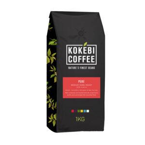 Kokebi Pure 100% Arabica Coffee Beans 1KG 20