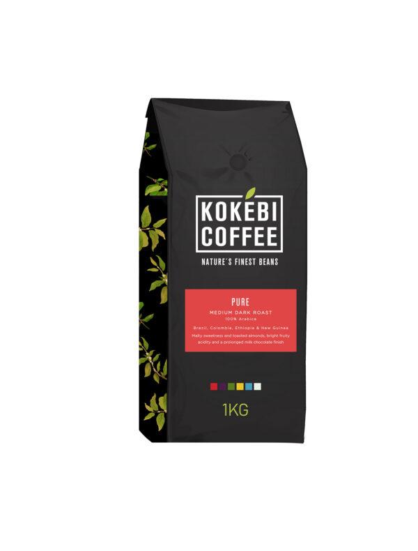 Kokebi Pure 100% Arabica Coffee Beans 1KG 28