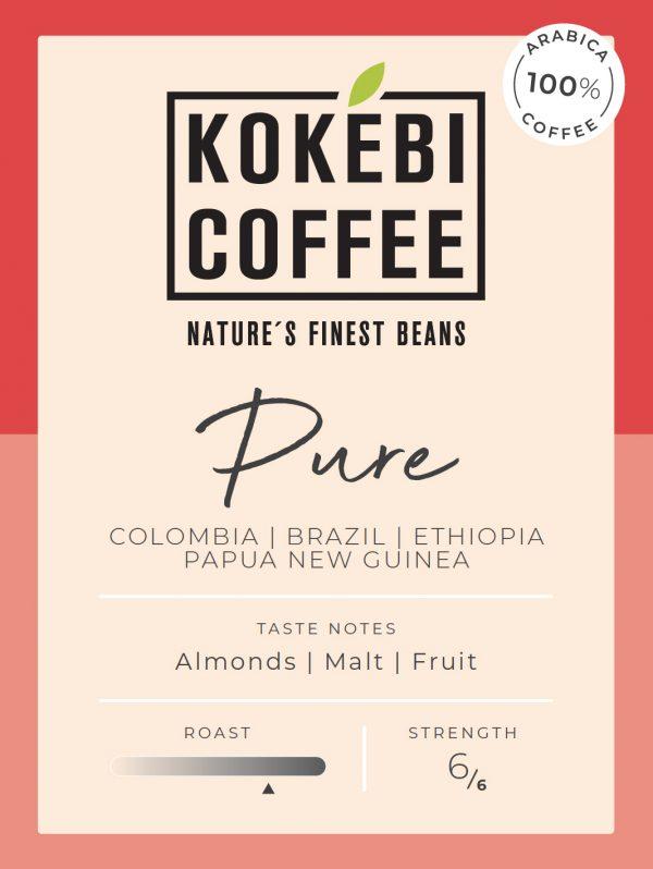 Kokebi Pure 100% Arabica Coffee Beans 1KG 35
