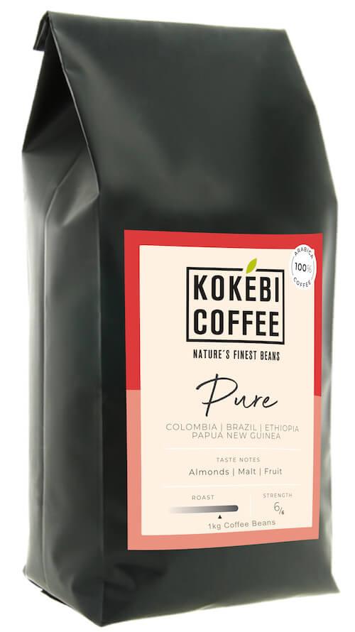 Kokebi Pure 100% Arabica Coffee Beans 1KG 36