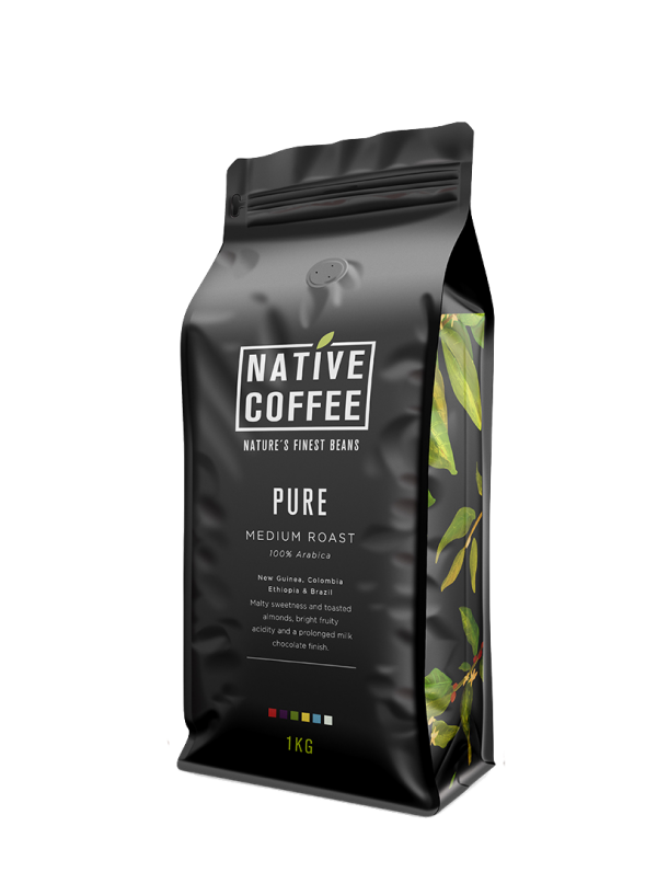 Native Pure 100% Arabica Coffee Beans 1KG 8