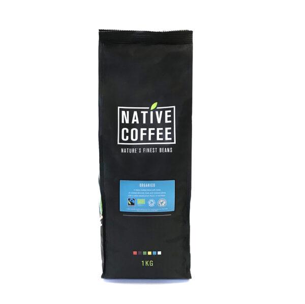 Native Organico Luxury Coffee Beans 1KG 1