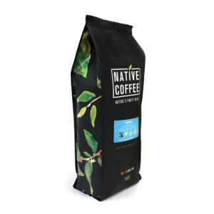 Native Organico Luxury Coffee Beans 1KG