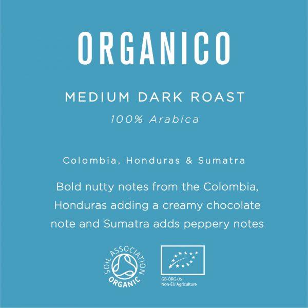 Native Organico Luxury Coffee Beans 1KG 3