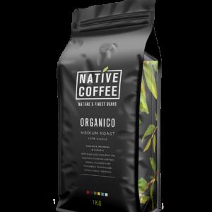 Native Organico Luxury Coffee Beans 1KG 4