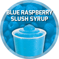 Blue Raspberry Flavoured Slush Syrup 5L 11