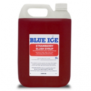 Blue Raspberry Flavoured Slush Syrup 5L 12