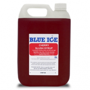 Blue Raspberry Flavoured Slush Syrup 5L 5