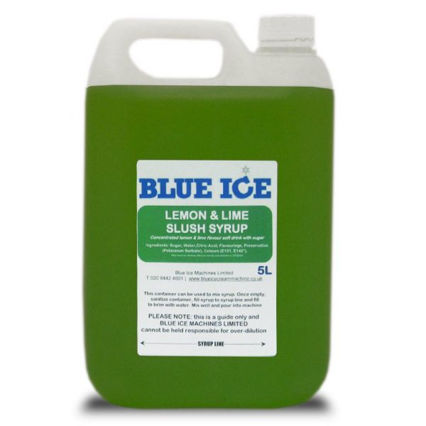 Blue Raspberry Flavoured Slush Syrup 5L 7