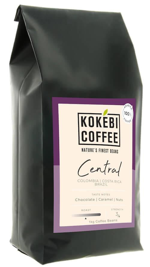 Kokebi Central Blend 100% Arabica Coffee Beans 1KG 5