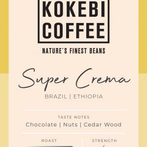 Kokebi Super Crema Coffee Beans 1KG 12
