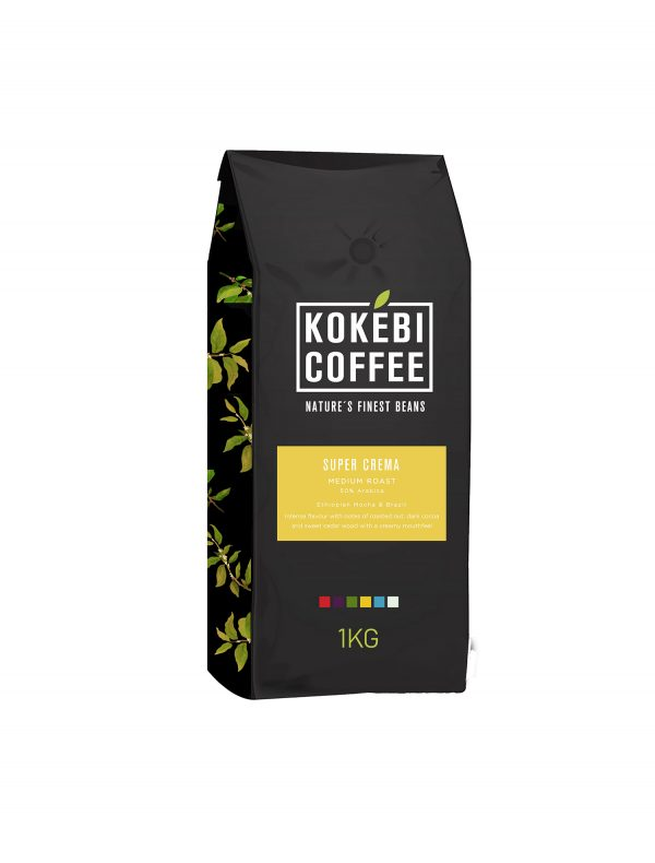 Kokebi Super Crema Coffee Beans 1KG 1