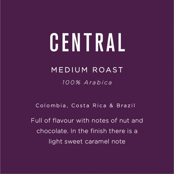 Native Central Blend 100% Arabica Coffee Beans 1KG 12