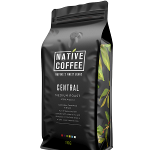 Native Central Blend 100% Arabica Coffee Beans 1KG 6