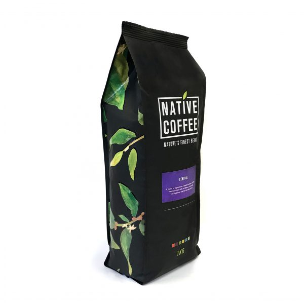 Native Central Blend 100% Arabica Coffee Beans 1KG 8