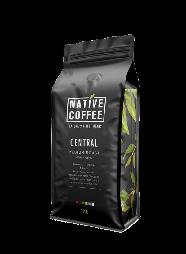 Native Central Blend 100% Arabica Coffee Beans 1KG 6