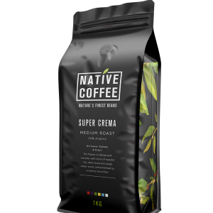 Native Super Crema Coffee Beans 1KG 5