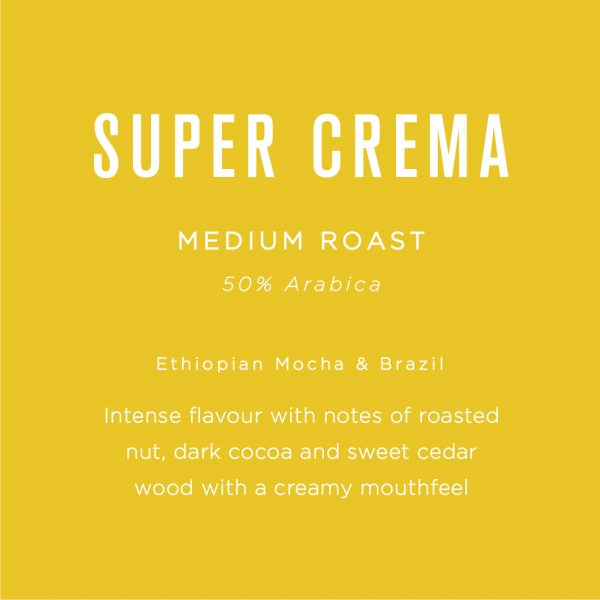 Native Super Crema Coffee Beans 1KG 9