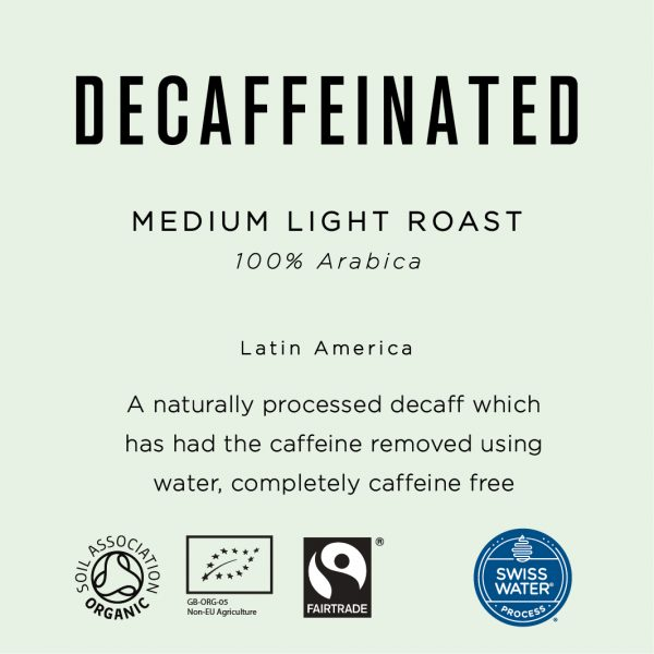 Native Decaffeinated Fairtrade Organic Coffee Beans 1KG 11