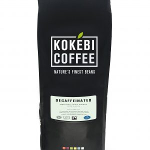 Native Decaffeinated Fairtrade Organic Coffee Beans 1KG 12