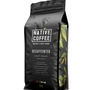 Native Decaffeinated Fairtrade Organic Coffee Beans 1KG 7