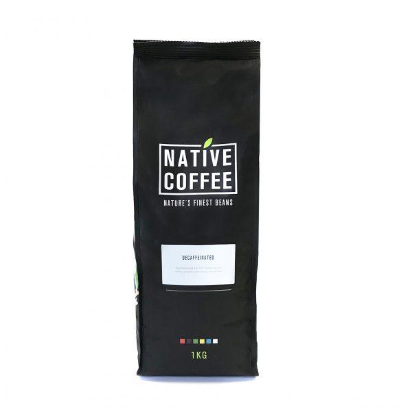 Native Decaffeinated Fairtrade Organic Coffee Beans 1KG 9