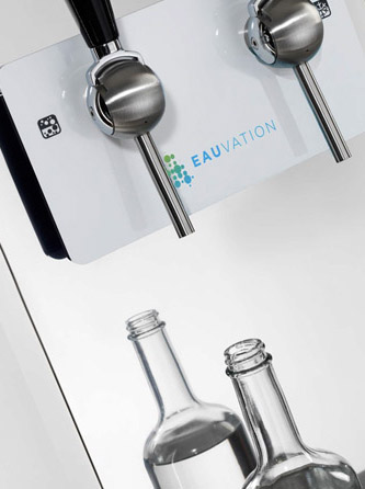 EAUdeVIE Filtered Still & Sparkling Water System 6
