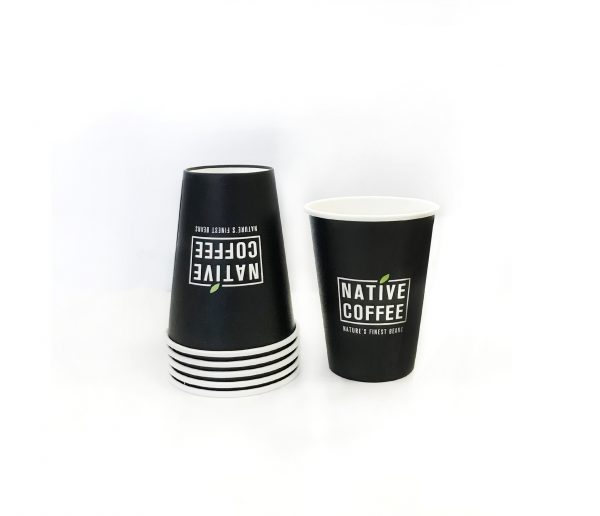 Native Takeaway Paper Cups 12oz/340ml  x 1000 6