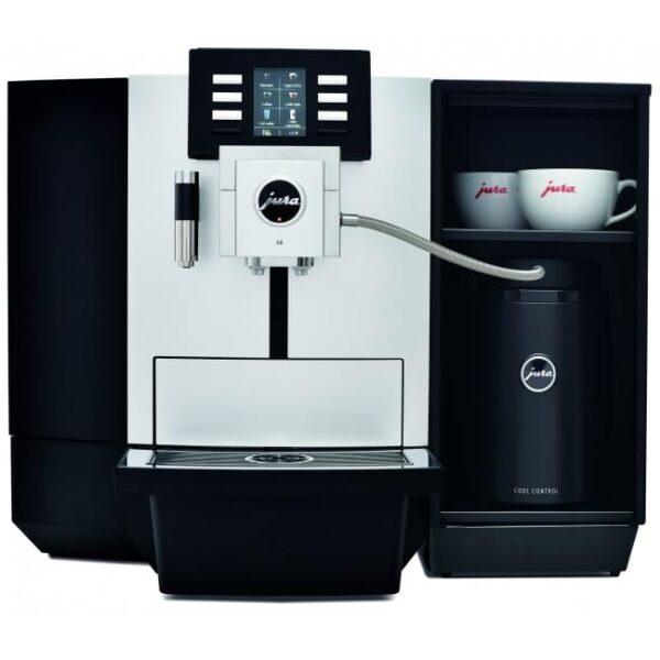New Jura JX8 Platinum Bean to Cup Coffee Machine 3