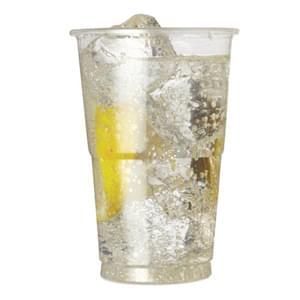 Plastic Cups & Lids 16oz / 500ml  -  Pack of 500