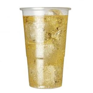 Plastic Cups & Lids 16oz / 500ml  -  Pack of 500