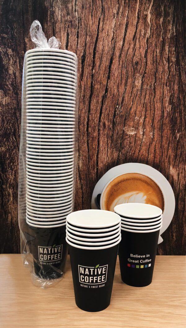 Native Takeaway Paper Cups 12oz/340ml  x 1000 2