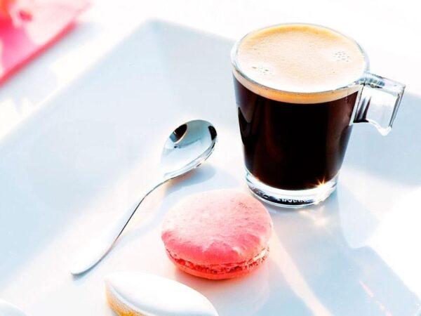 Aroma Espresso Glass Cup & Saucer x 12 2