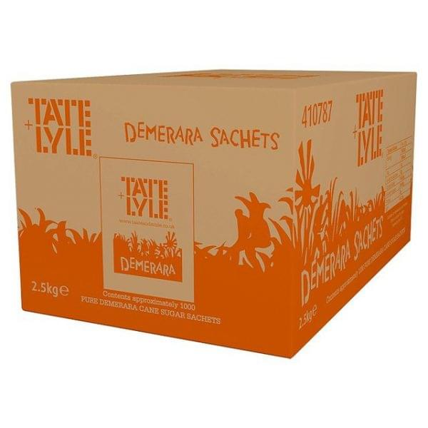 Tate+Lyle Cane Sugar Demerara Sachets x 1000 1