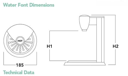 Insta Tap Under Counter Hot Water Dispenser  UCD12 5