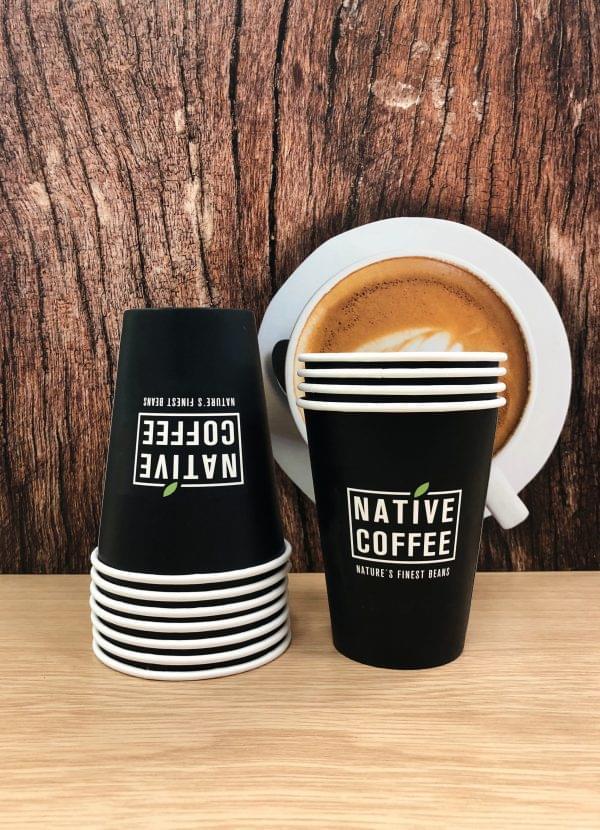 Native Takeaway Paper Cups 12oz/340ml  x 1000 3