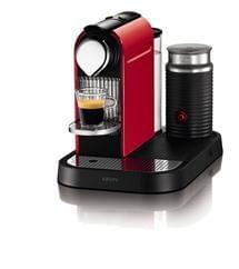Krups Nespresso XN730540 Citiz with Aeroccino in Red