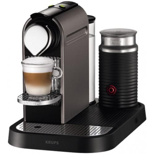 Krups Nespresso XN730T40 with Aeroccino in Titanium