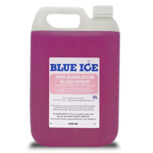 Pink Bubblegum Flavoured Slush Syrup 5L 2