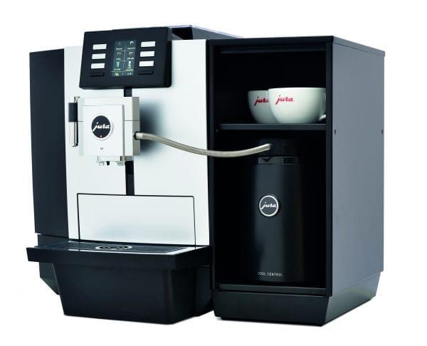 New Jura JX8 Platinum Bean to Cup Coffee Machine 7