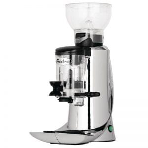 Fracino Luxo Silent Coffee Grinder Silver 1