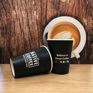 Native Takeaway Paper Cups 12oz/340ml  x 1000 1