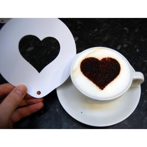 Whole Heart Chocolate Sprinkle Stencil 1