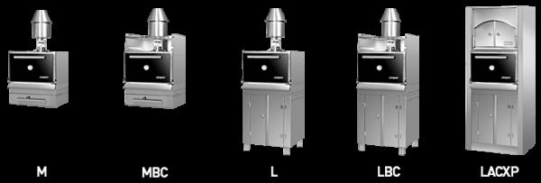 Josper L ACXP Series Charcoal Ovens 3