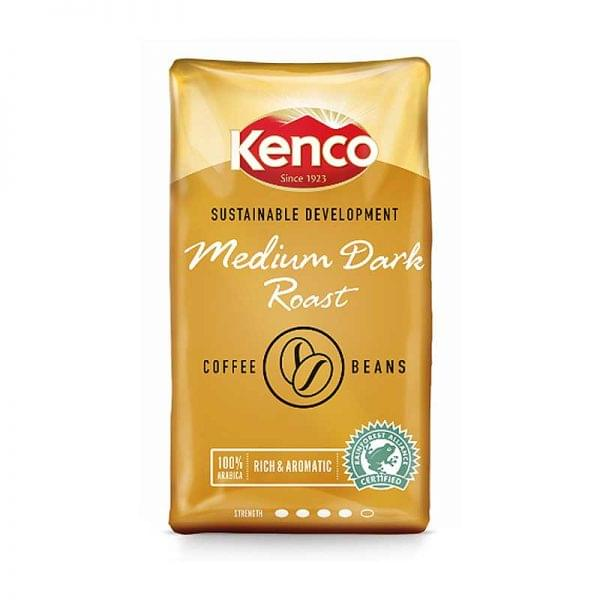 Kenco Medium Dark Roast Coffee Beans 1 KG 1