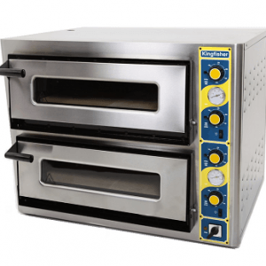 Kingfisher Electric Pizza Ovens  4+4 , 6+6, 9