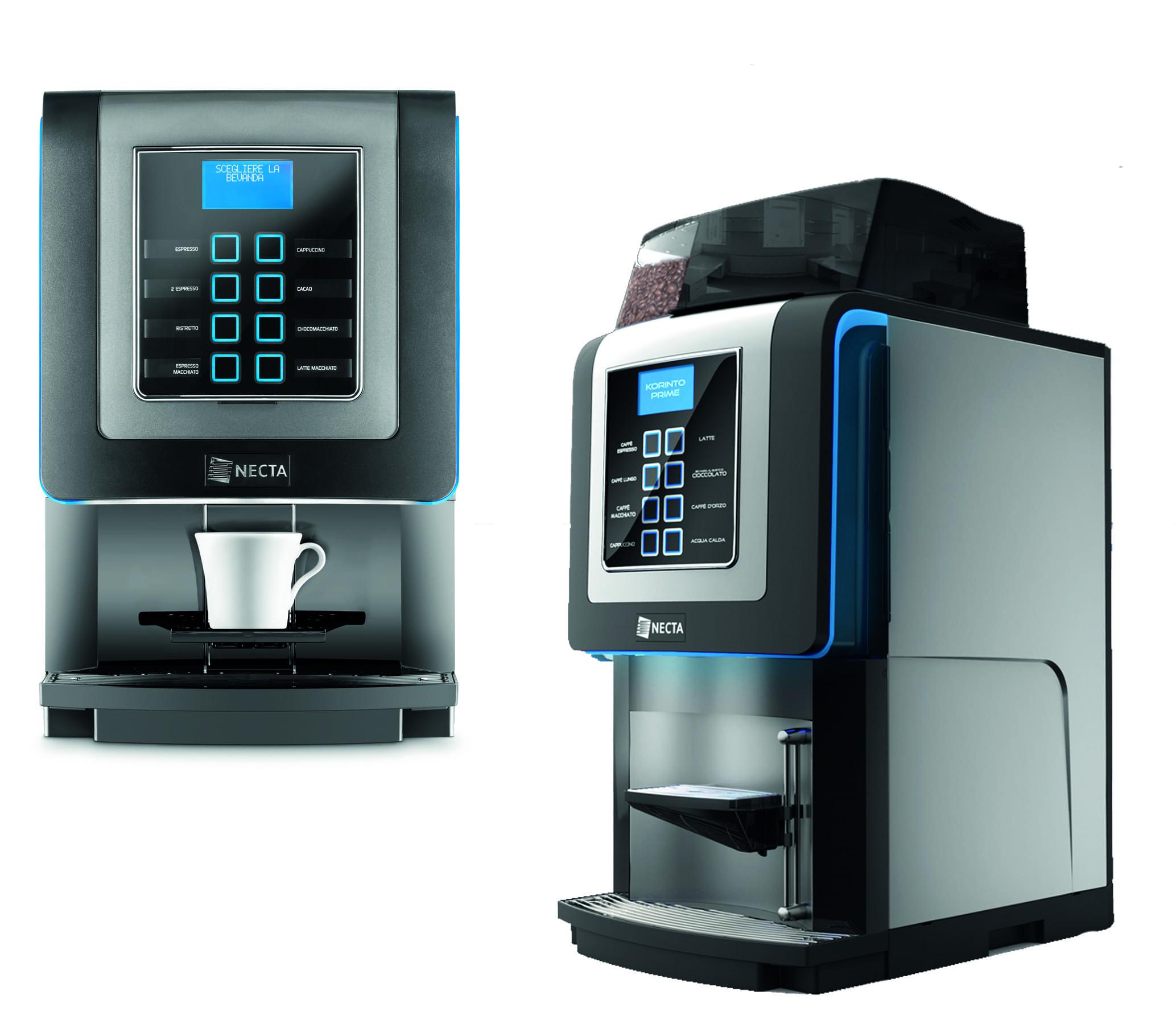 Necta Koro Max Prime Bean To Cup Coffee Machine Logic