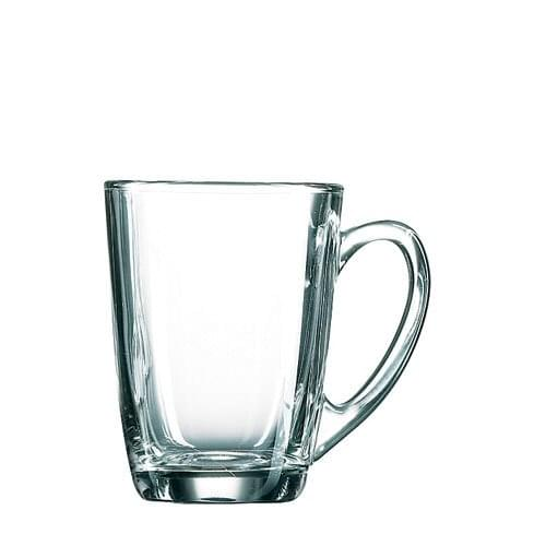 Glass Latte Coffee Cup 2