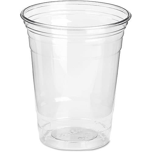 7oz Clear Plastic Cups x 1000 1